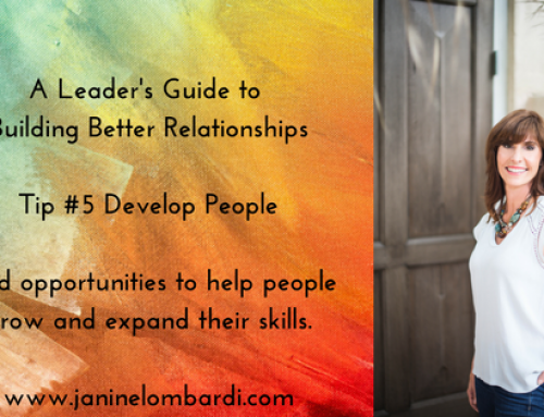 A Leader's Guide to Building Relationships and Employee Engagement: Tip #5 Develop People